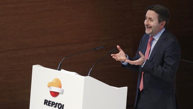 El consejero delegado de Repsol, Josu Jon Imaz