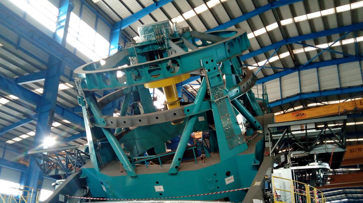 El mayor telescopio del mundo se está fabricando en Asturias
