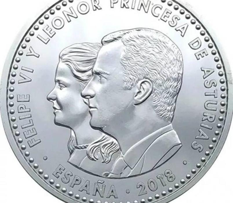 Sale a la venta la polémica moneda de 30 euros con el rostro de la Princesa Leonor