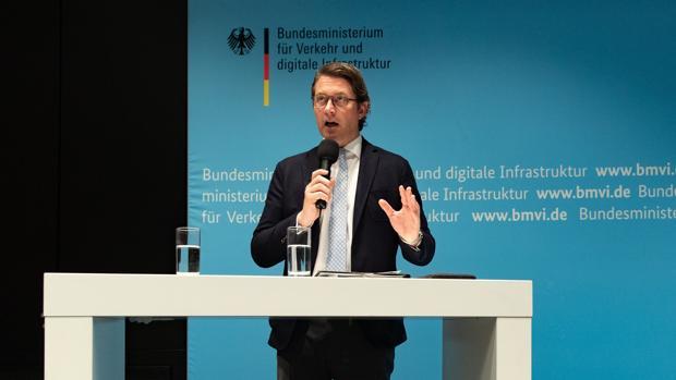El ministro de Transporte, el conservador bávaro Andreas Scheuer
