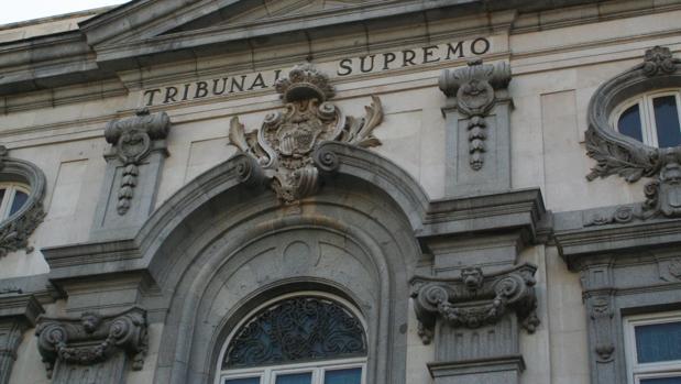 Fachada del Tribunal Supremo en la capital de España