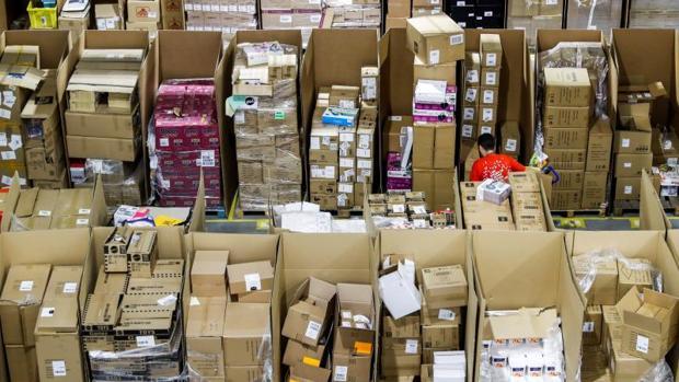 Nave de distribución de Amazon en Torrejón de Ardoz