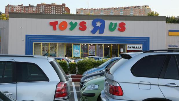 Tienda de Toys «R» Us en Valladolid