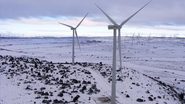 Parque eólico de Iberdrola en Castilla-La Mancha