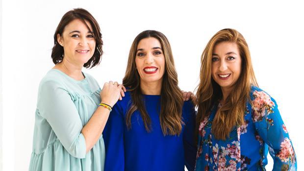 Las fundadores de «Lycolé» (de izda a dcha): Mamen González, Gema Correa y Blanca Bravo