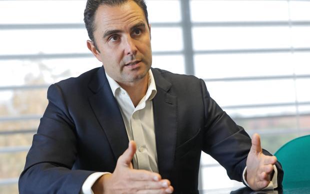 Hervé Falciani, durante la entrevista con ABC en la Universidad Politécnica de Valencia (UPV)