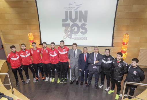 la Fundación Caja de Burgos mantiene convenios con entidades deportivas para favorecer la inclusión social en el deporte.