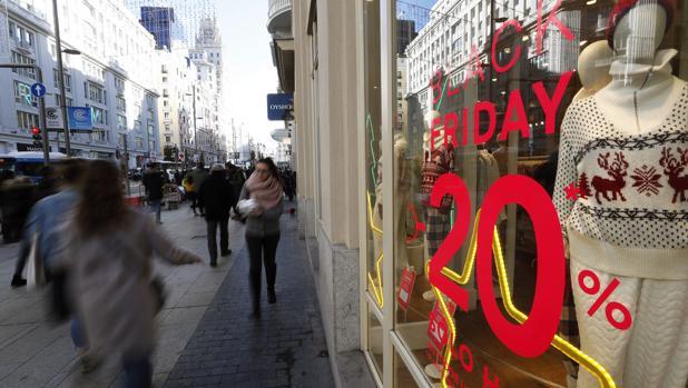 El «Black Friday» propició miles de contratos a tiempo parcial