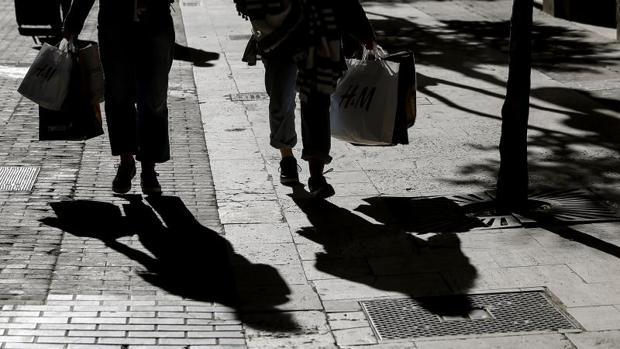 Compras en comercios a pie de calle