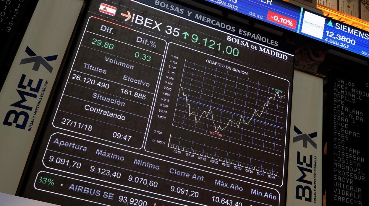 La «tregua comercial» entre Estados Unidos y China dispara al Ibex 35 por encima de los 9.200 puntos