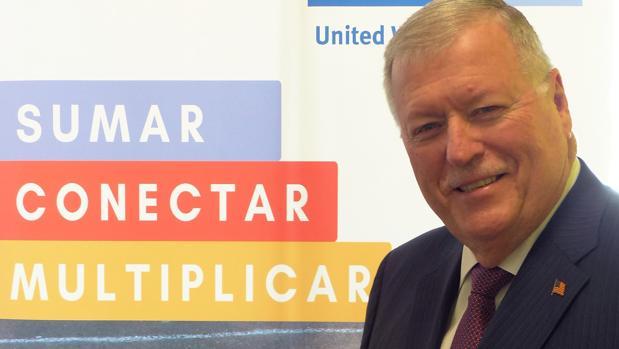 Michael Kennedy Hayd, director ejecutivo de United Way