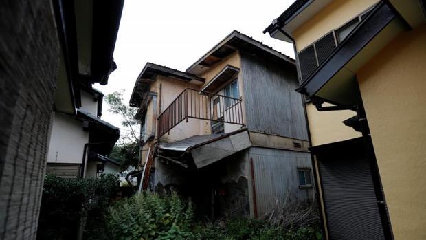 Casa vacía en Japón