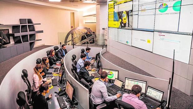 Uno de los SOC (Security Operations Center) de Prosegur