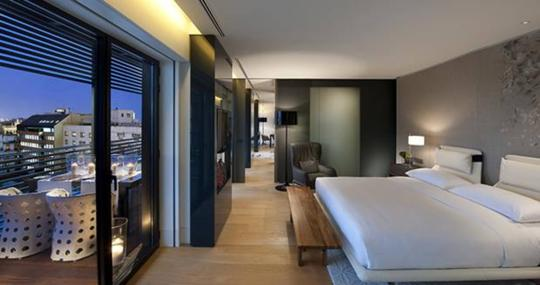 Habitación del Mandarin Oriental en Barcelona