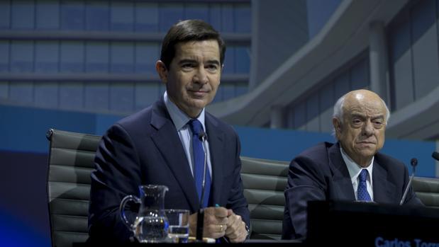 Draghi urge a BBVA, Banco de España y CNMV a resolver la crisis de las escuchas