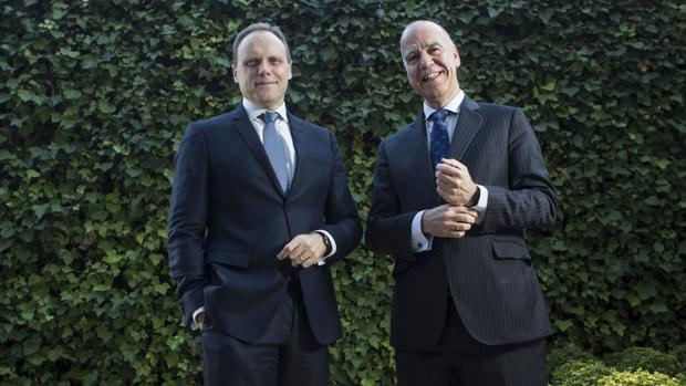 Daniel Lacalle, economista jefe de Tressis, y José Miguel Maté, consejero delegado