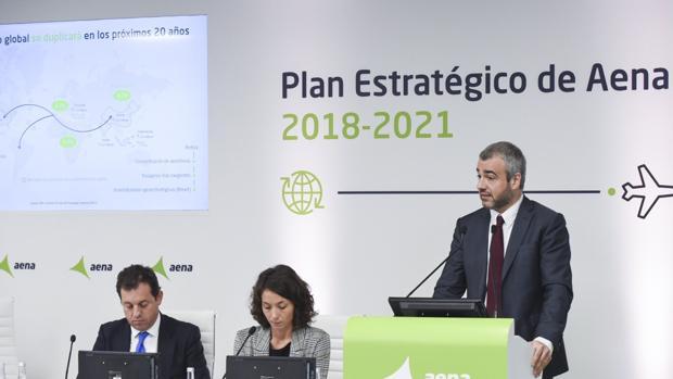 Presentación del Plan Estratégico de AENA