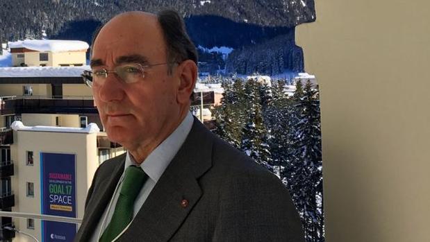 Ignacio Galán, en Davos
