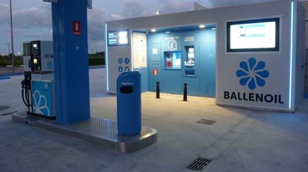 Estación de servicio de Ballenoil