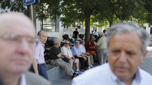 La pensión media de jubilación ha sido de 1.129,66 euros en enero