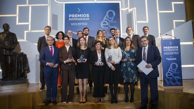 El acto tuvo lugar en la sede del grupo Vocento en Madrid