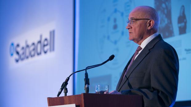 José Oliu, presidente del Sabadell