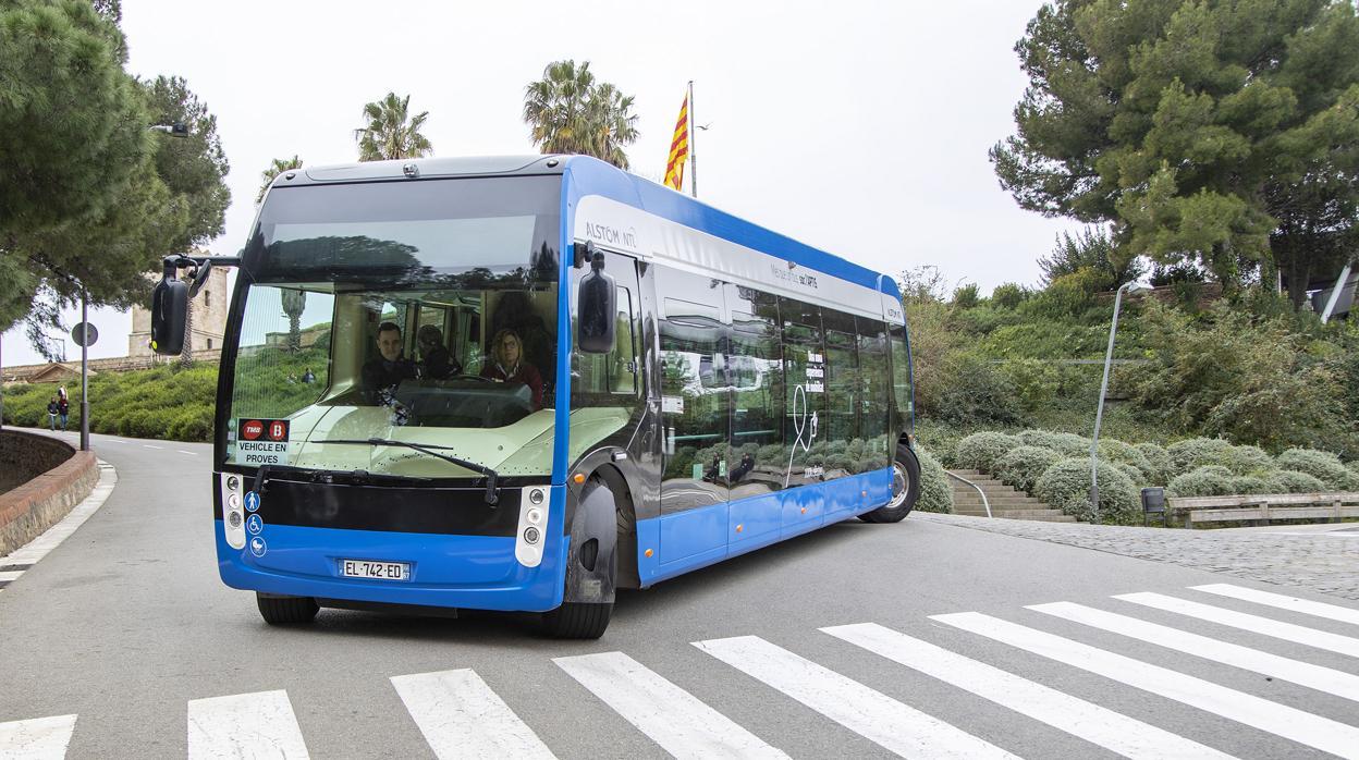 Alstom presenta Aptis, su autobús eléctrico para las grandes ciudades