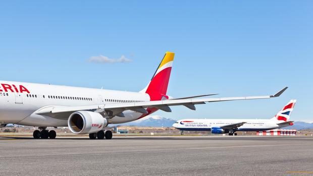 Iberia y British Airways forman parte de IAG