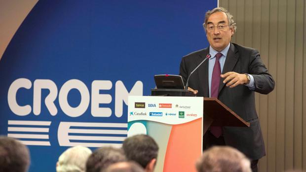 Juan Rosell, expresidente de la CEOE