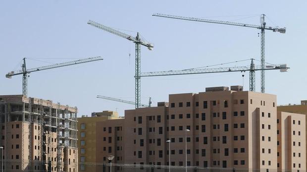 Pisos en construcción en Sevilla