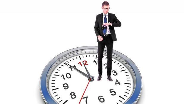 Los españoles disponen de una media de 46 minutos de descanso diario en su trabajo