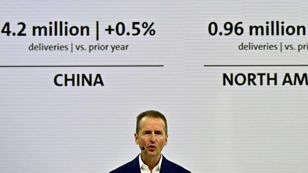 Herbert Diess , CEO de Volkswagen