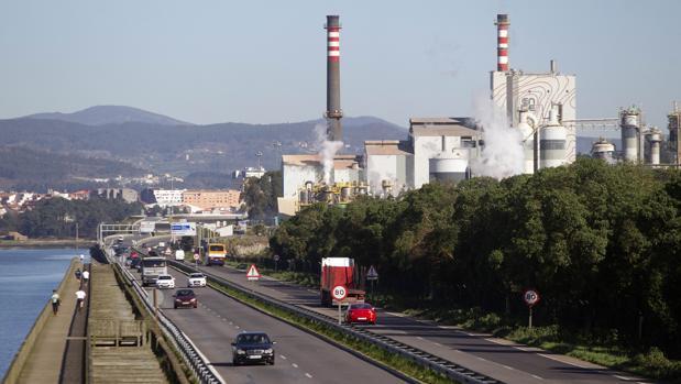 Planta de Ence en Pontevedra