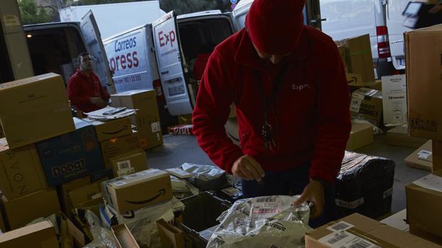 La pasada Navidad se produjeron 24 millones de envíos a distribuir por toda España