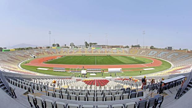Estadio de la Universidad San Marcos para los Juegos Panamericanos de Lima 2019