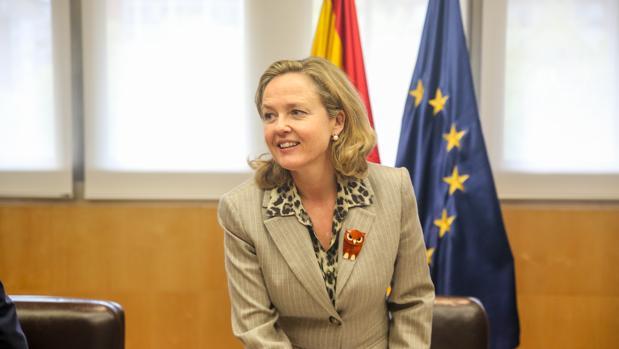 Nadia Caliviño, ministra de Economía