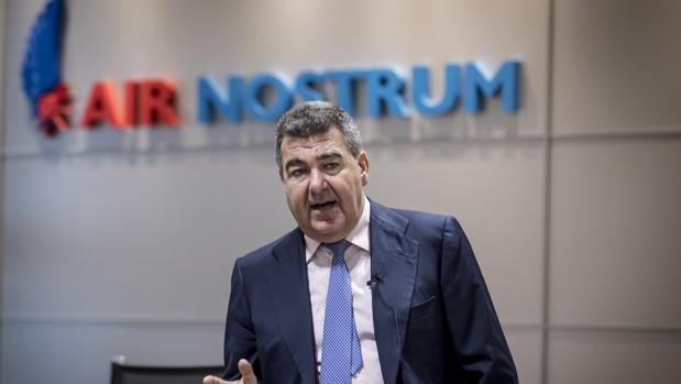 Carlos Bertomeu, Consejero Delegado de Air Nostrum,