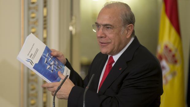 El secretario general de la OCDE, Miguel Ángel Gurría