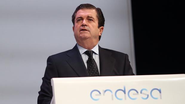 Borja Prado, el pasado viernes en la junta de accionistas