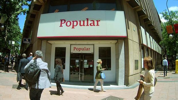 El Banco de España detectó al Popular saneamientos sin hacer por 2.900 millones antes de 2011