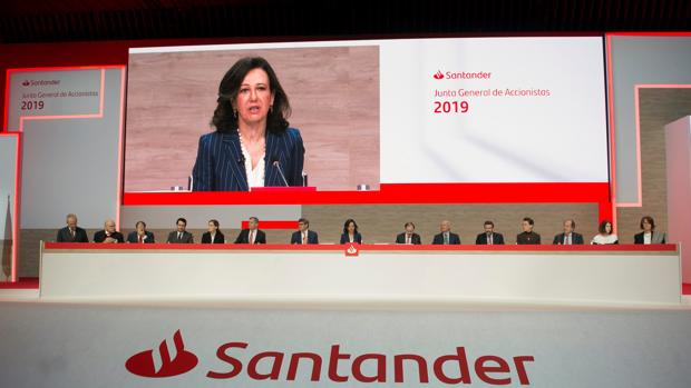 Ana Botin, presidenta del Santander