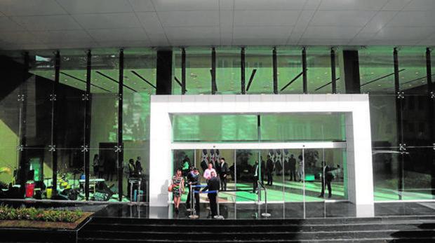El Centro de Convenciones del Ministerio de Exteriores, en Santo Domingo