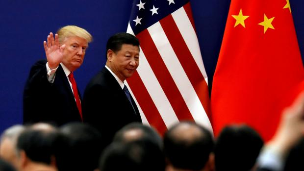 Los presidentes de Estados Unidos y China, Donald Trump y Xi Jinping