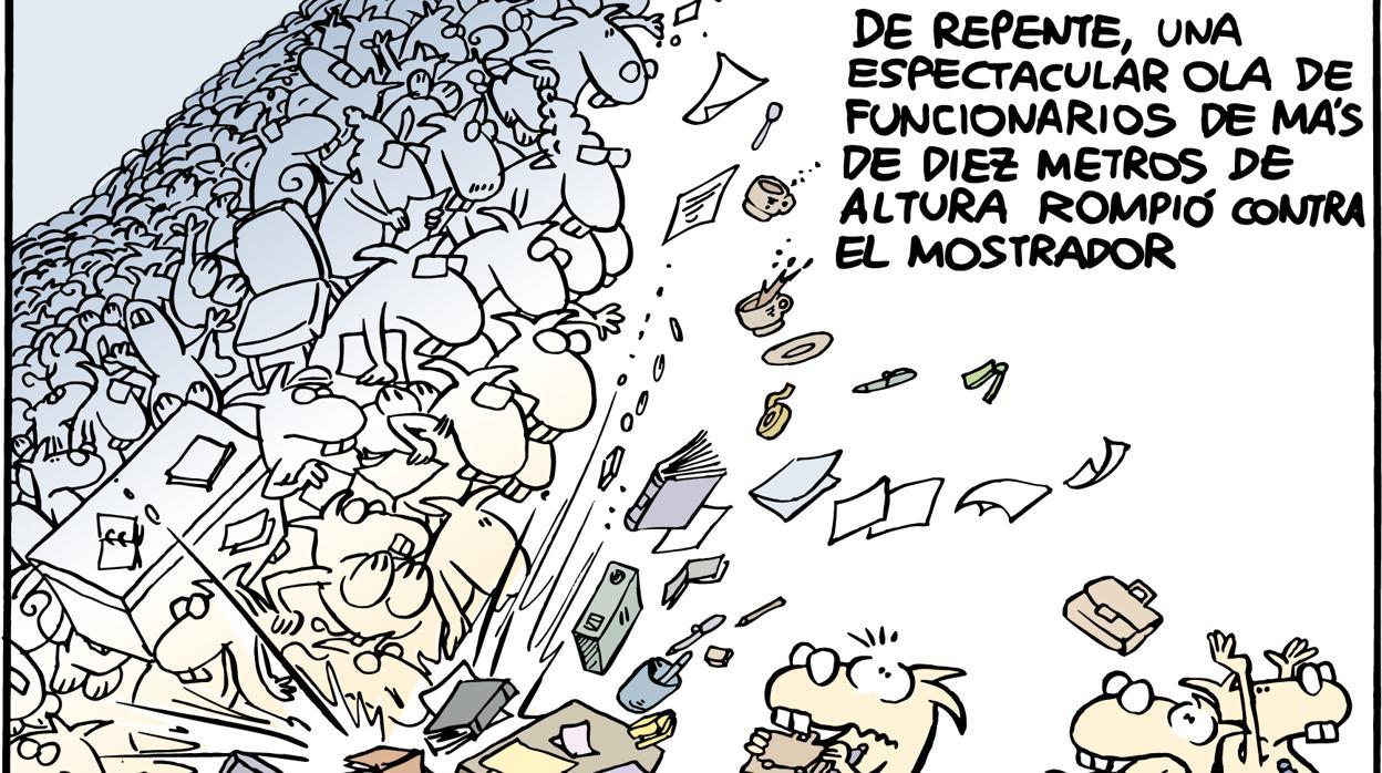 Convocadas las oposiciones para más de 8.000 plazas en la Administración y otras cuatro noticias económicas