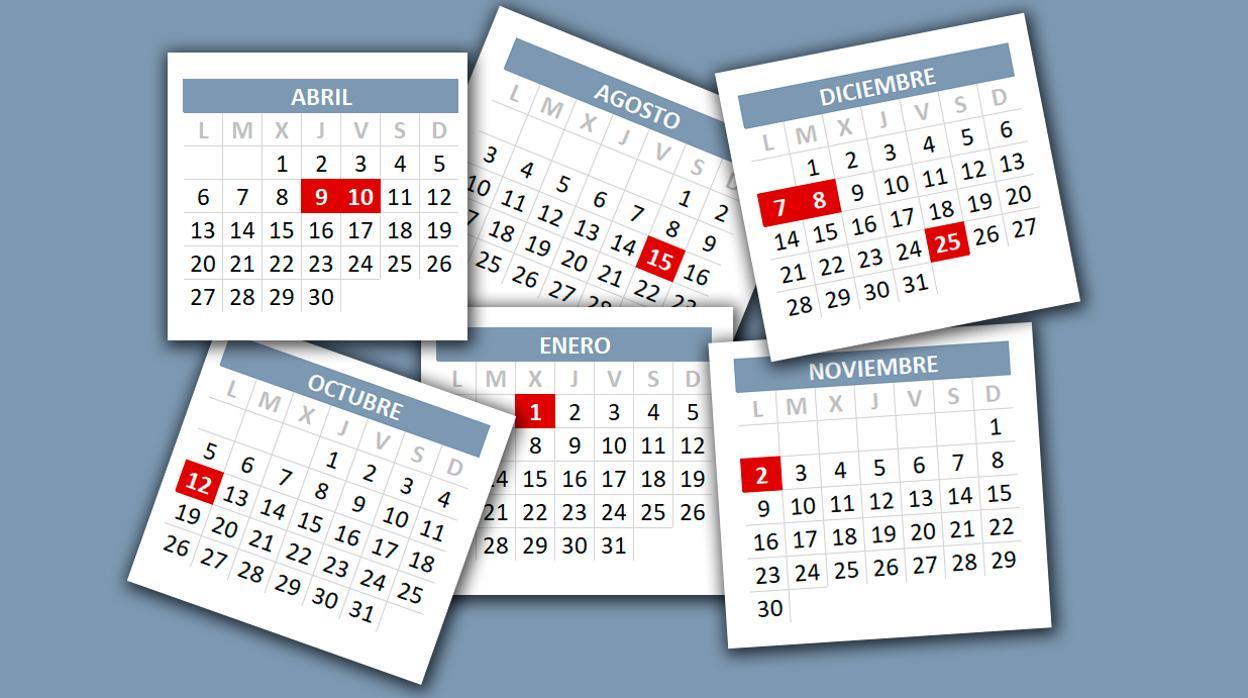2020 Calendario Laboral.Calendario Laboral 2020 Consulta Los Festivos Del Proximo