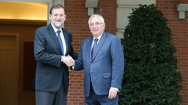 Juan José Imbroda junto a Mariano Rajoy