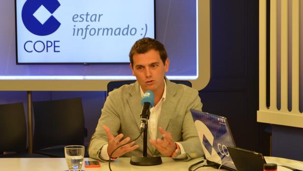 Albert Rivera en «Herrera en COPE»