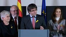 Puigdemont: «La república catalana ha ganado a la monarquía del 155»