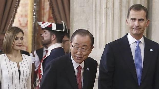Ban Ki-moon ha intervenido en el acto del 60 aniversario del ingreso de España en la ONU