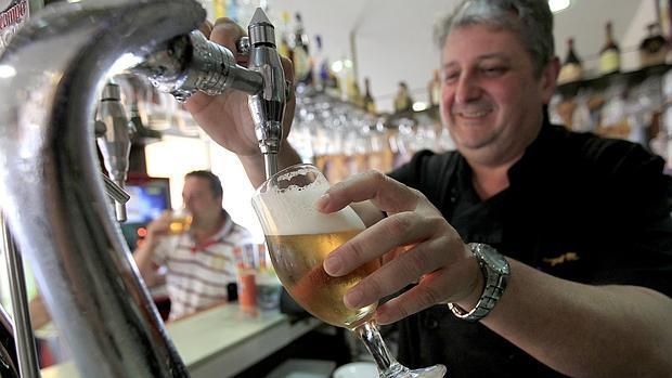 cervezas y locales